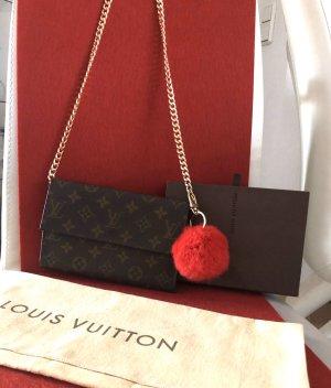 Louis Vuitton Clutch zwart bruin