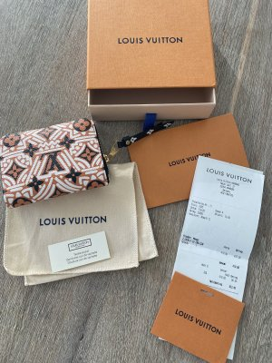 Louis Vuitton Crafty Zippy Coin Geldbörse, Fullset