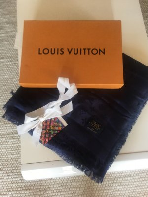 Louis Vuitton Neckerchief dark blue