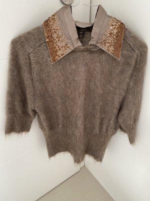Louis Vuitton Maglione girocollo beige Mohair