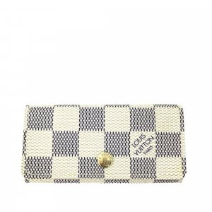 Louis Vuitton Key Case white
