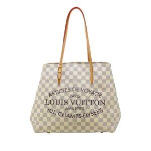 Louis Vuitton Bolso de compra blanco
