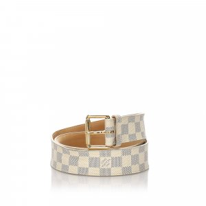 Louis Vuitton Damier Azur City Belt