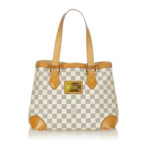 Louis Vuitton Sac porté épaule blanc