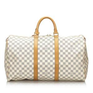 Louis Vuitton Travel Bag white