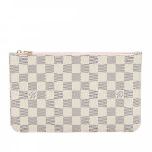 Louis Vuitton Damier Azur Neverfull MM Pouch