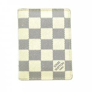 Louis Vuitton Damier Azur Pocket Organizer Card Case