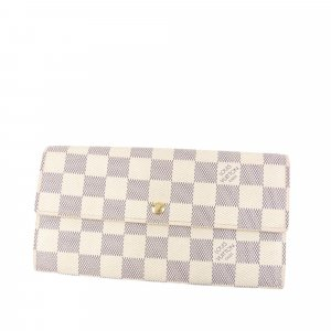 Louis Vuitton Damier Azur Sarah Long Wallet