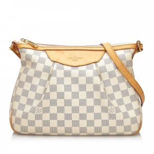 Louis Vuitton Gekruiste tas wit