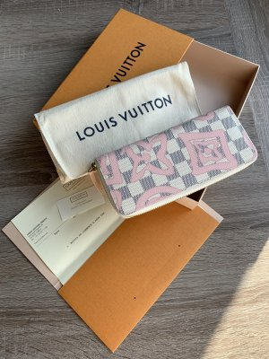 Louis Vuitton Damier Azur Tahitienne Rose Clemence Fullset
