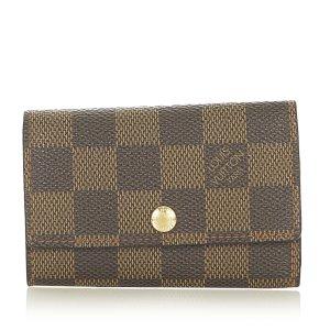 Louis Vuitton Étui porte-clés brun