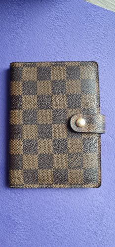 Louis Vuitton Damier Ebene Agenda Pm