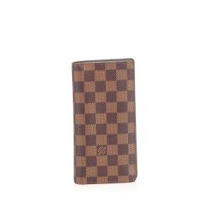 Louis Vuitton Cartera marrón
