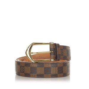 Louis Vuitton Cinturón marrón