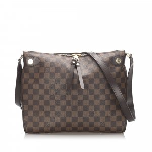 Louis Vuitton Damier Ebene Duomo Crossbody Bag