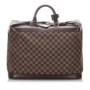 Louis Vuitton Borsa da weekend marrone