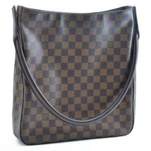 Louis Vuitton Borsa a tracolla marrone Fibra tessile