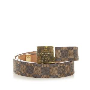 Louis Vuitton Belt dark brown