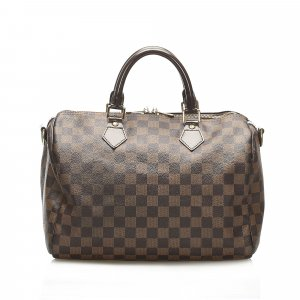 Louis Vuitton Damier Ebene Speedy Bandouliere