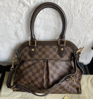 Louis Vuitton Handbag black brown-bronze-colored