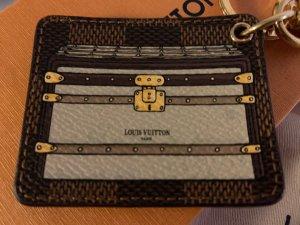 Louis Vuitton Damier Ebene Trunks & Locks Schlüsselanhänger Taschenanhänger