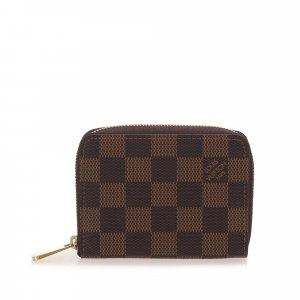 Louis Vuitton Damier Ebene Zippy Coin Purse