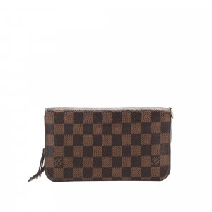 Louis Vuitton Damier Ebene Zippy Long Wallet