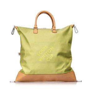 Louis Vuitton Bolso de viaje verde pálido Nailon