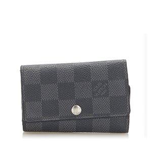 Louis Vuitton Etui voor sleutels zwart