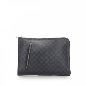 Louis Vuitton Damier Graphite Poche Documents Portfolio