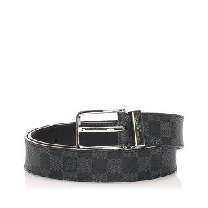 Louis Vuitton Cinturón negro