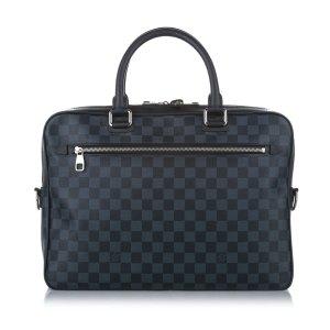 Louis Vuitton Business Bag dark blue