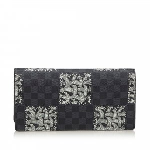 Louis Vuitton Damier Graphite Portefeuille Brazza Christopher Nemeth Wallet