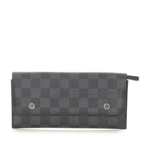Louis Vuitton Damier Graphite Portefeuille Long Wallet