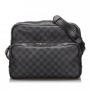 Louis Vuitton Damier Graphite Sac Leoh