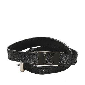Louis Vuitton Damier Graphite Sign It Bracelet