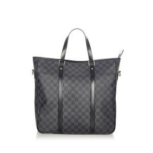 Louis Vuitton Satchel zwart