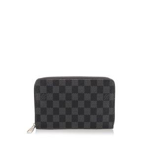Louis Vuitton Damier Graphite Vertical Zippy Wallet