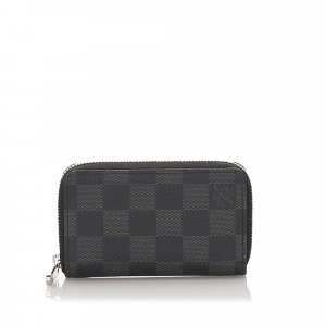 Louis Vuitton Damier Graphite Zippy Coin Purse