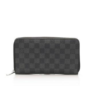 Louis Vuitton Damier Graphite Zippy Long Wallet