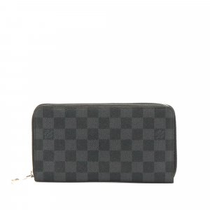 Louis Vuitton Damier Graphite Zippy Long Wallet