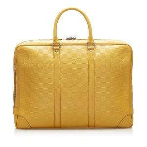 Louis Vuitton Bolso business amarillo