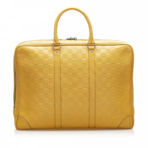 Louis Vuitton Business Bag yellow