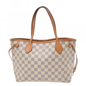 Louis Vuitton Borsetta bianco Fibra tessile