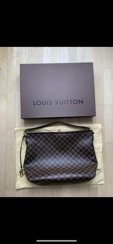 Louis Vuitton Bolso tipo marsupio rojo-marrón Cuero