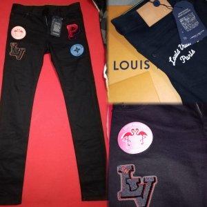 Louis Vuitton denim Skinny jeans Sonderanfertigung W29 NEU