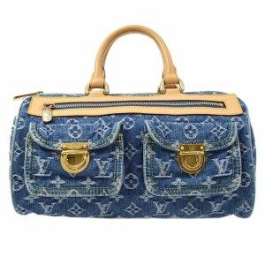 Louis Vuitton denim speedy neo