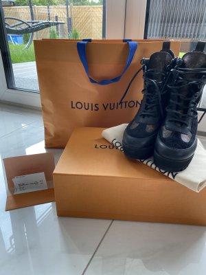Louis Vuitton Bottine d'hiver brun noir