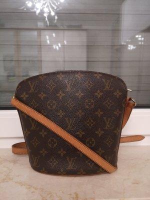 Louis Vuitton Crossbody bag cognac-coloured