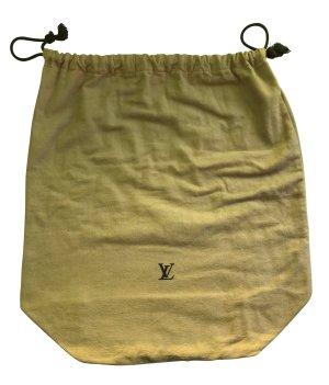Louis Vuitton Handtas bruin Katoen